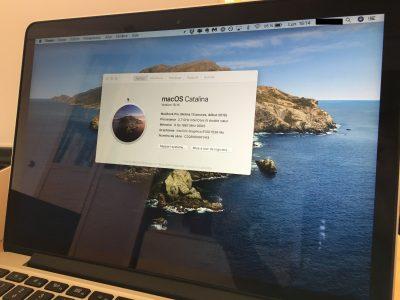 Mac Book Pro retina 13″ mi 2015 i5