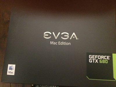 EVGA GeForce GTX 680 Mac Edition carte graphique