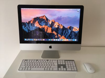 iMac Slim 21″ – Core i5 2,7Ghz – HDD 1To – RAM 8Go