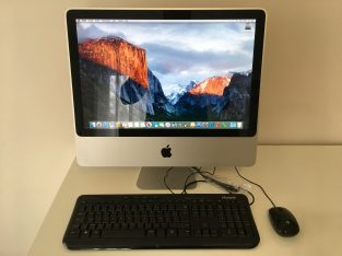 iMac 20″ Core 2 Duo 2,66Ghz – HDD 320Go – RAM 2Go