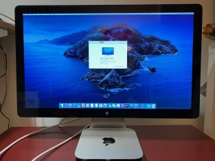 Mac Mini et Apple Thunderbolt Display