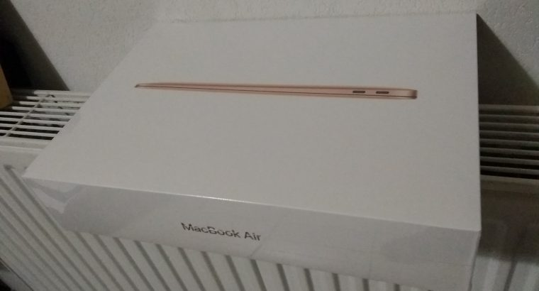 MacBook Air Gold neuf sous emballage 916 EUR