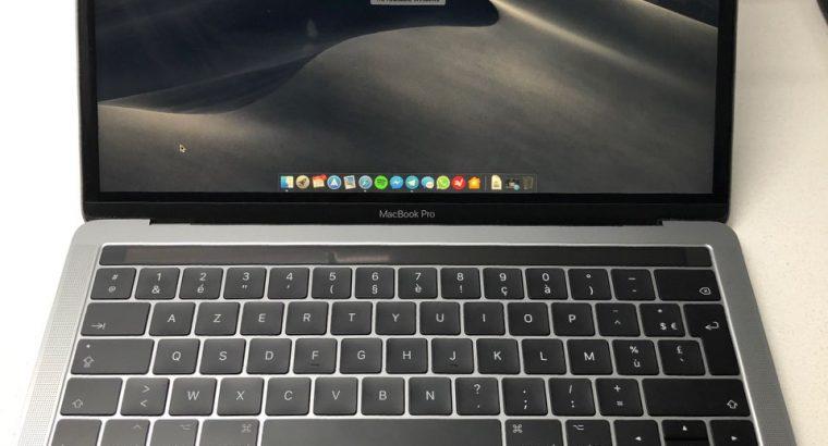 MacBook Pro Touch Bar 3.1Ghz 16Go 512Go Garantie