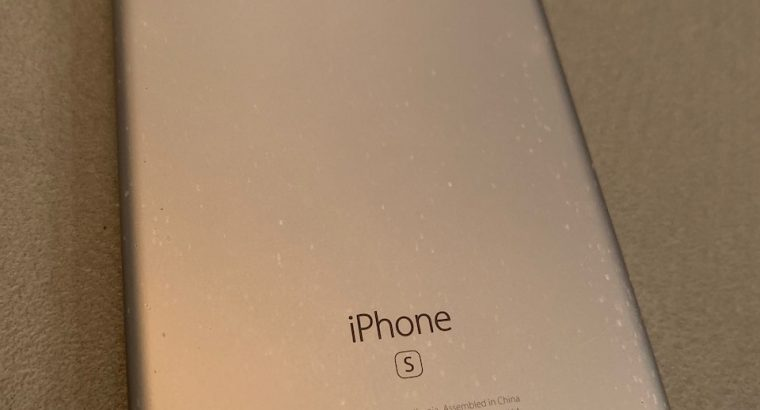 iPhone 6S 128Go batterie 5 mois