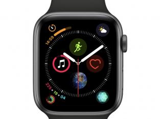 Apple Watch série 4 acier inox noir sidéral 44mm