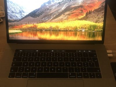 MacBook Pro 15″ TouchBar 2016 gris sidéral