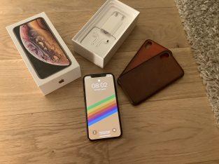 IPhone Xs 256GB Or – 2 coques et verre trempé