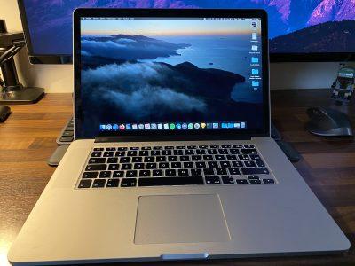 MacBook Pro Retina 15 – I7- 512 SSD – 16Go – M370X
