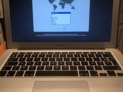Vends MacBook Air 13,3″ 2015