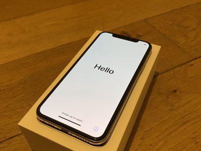 iPhone XS 255 go silver septembre 2018