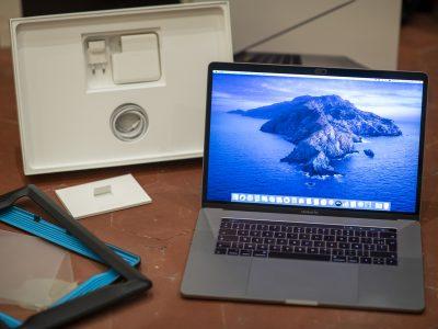 MacBook Pro 15′ TouchBar – 2,9Ghz – état neuf