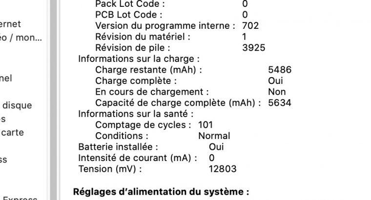 MacBook Pro Touch Bar 15″ Retina (Mi-2017)