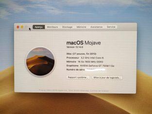 iMac 27 Late 2013