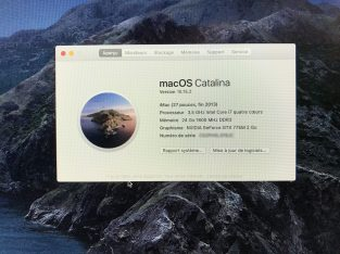 iMac 27 pouce Fin 2013