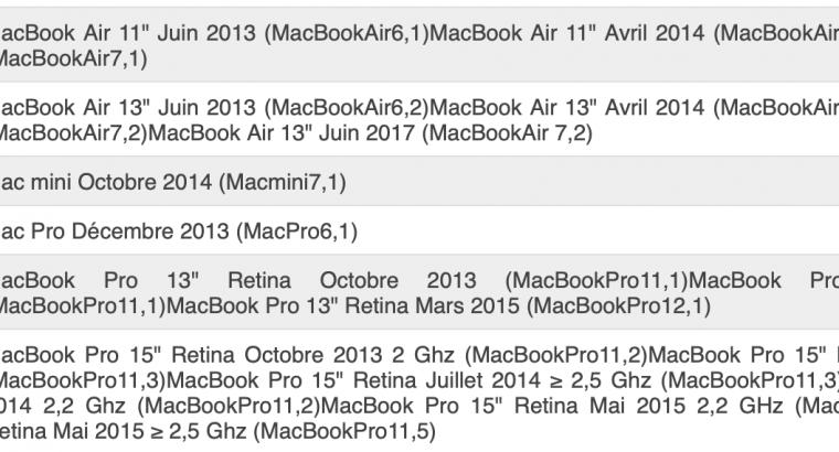 SSD 1To Apple MacBook Air/Pro, Mac mini, Mac Pro