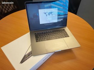 "MacBook Pro 15"" 2018 (2To SSD +16Go RAM) garanti"