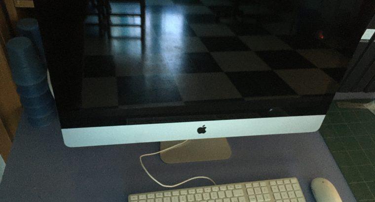 iMac 27″ (mi-2011) – 3,4 Ghz – 12 Go RAM – 2 To