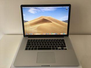 MacBook Pro Retina 15″ i7 2,2Ghz SSD 512Go 16Go