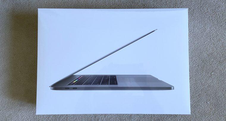 MacBook Pro Touch Bar 15 2019 i9 – neuf – 16/512