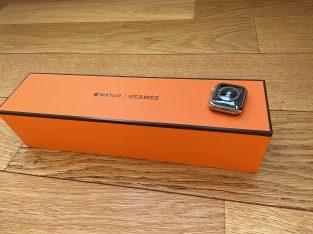 Apple Watch S5 Hermes Acier Inoxydable argent