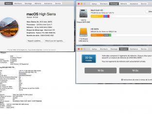 IMac Retina 4K 21,5 2017 3,40Ghz 1To