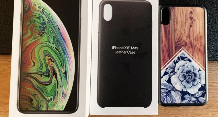 IPhone XS – 256Go – Gris Sidéral – Neuf