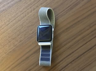 APPLE WATCH SERIE 3 ARGENT – 42MM