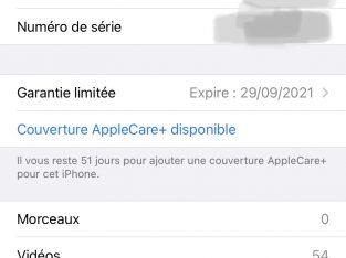 iPhone 11 Pro 64go noir sous garantie