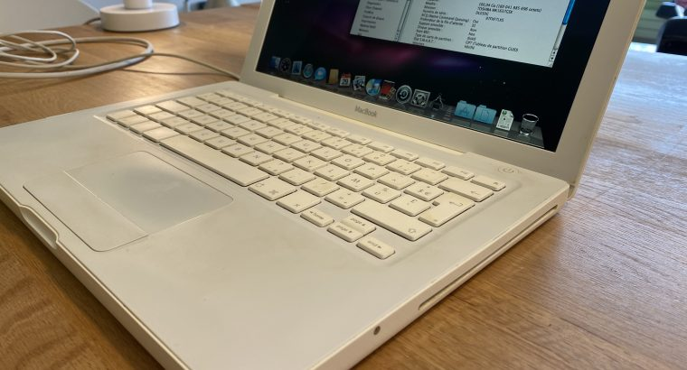MacBook Blanc 13' 2Go 160Go HD