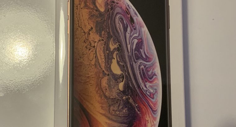 iPhone XS 256 Go Or (Neuf, échange SAV Orange)