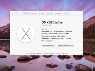 Mac Pro 2008 / El Capitan