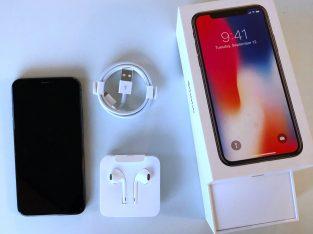 iPhone X 256Go gris sidéral + garantie 6 mois