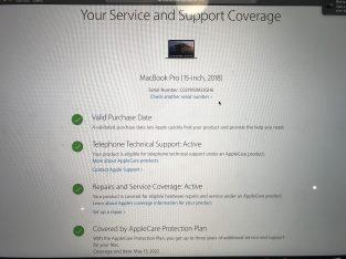 Vends Macbook Pro 2018 très peu servi
