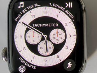 Apple Watch Série 4 Acier Argent GPS+Cellular