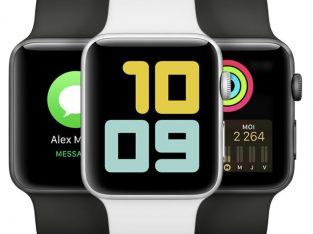 Vends Apple Watch 4 noir, 44mn