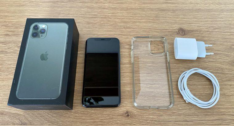iPhone 11 Pro – 64Go – Vert Nuit – Garantie Apple