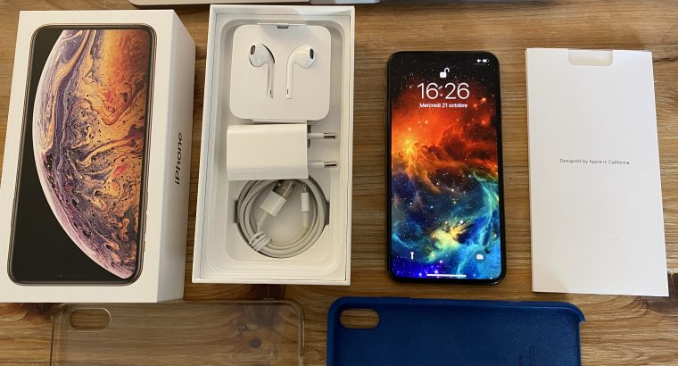 Apple iPhone XS Max 256 Go gold