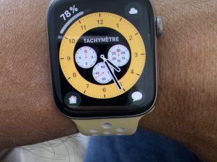 Apple Watch s4 acier inox. 44