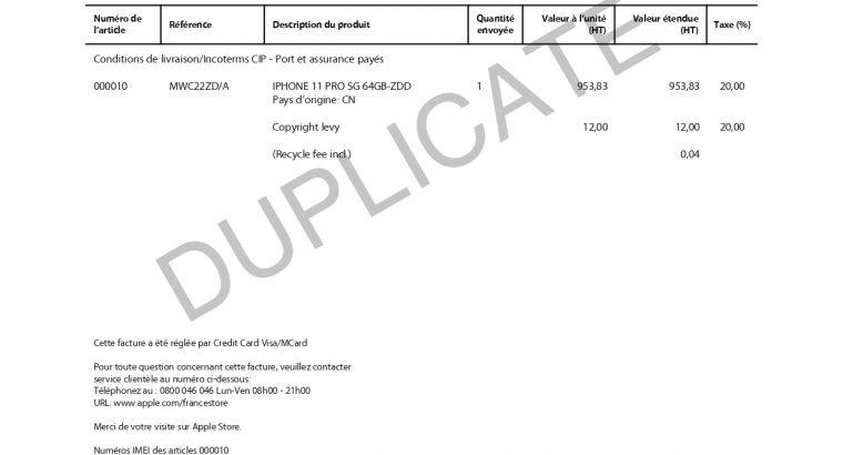 iPhone 11 Pro 64go gris sidéral sous garantie