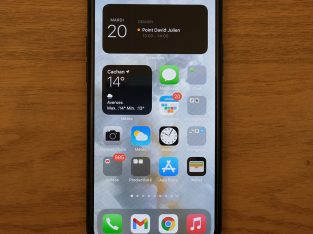 iPhone 11 Pro 256 Go vert nuit.