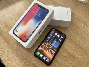 iPhone X 256Go gris sidéral