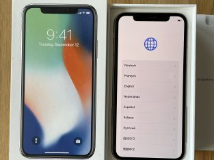 iPhone X argent 256Go