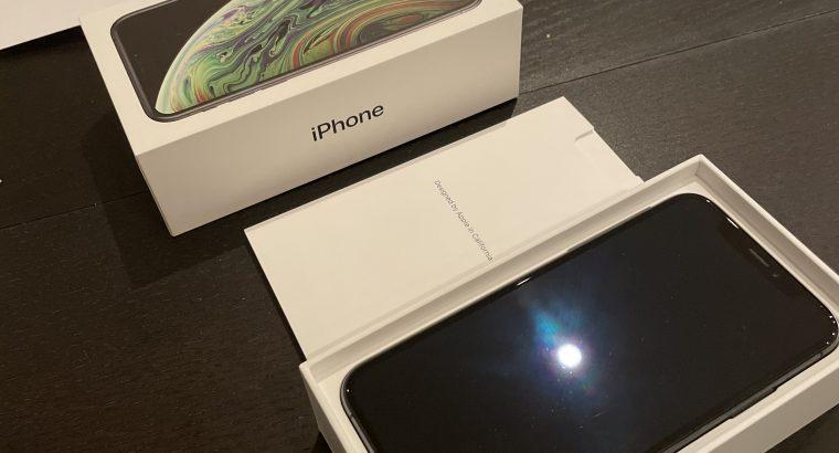 iPhone XS 256Go gris sidéral