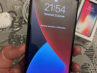 iPhone X 64 gris sidéral batterie Apple neuve