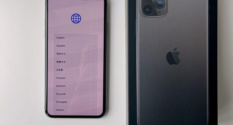 Apple iPhone 11 Pro Max 256GB Gris Sidéral