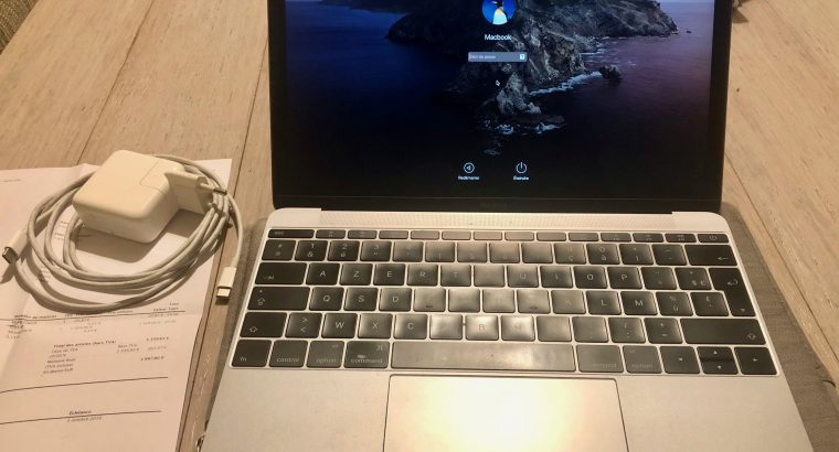 Macbook 12 pouce 512 Go Retina SPACE GRAY