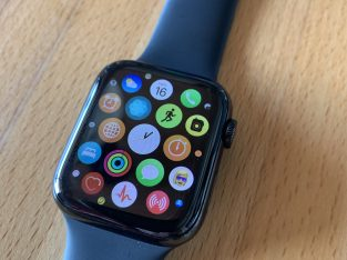 Apple Watch Séries 4 GPS + Cellular – Acier – 44mm
