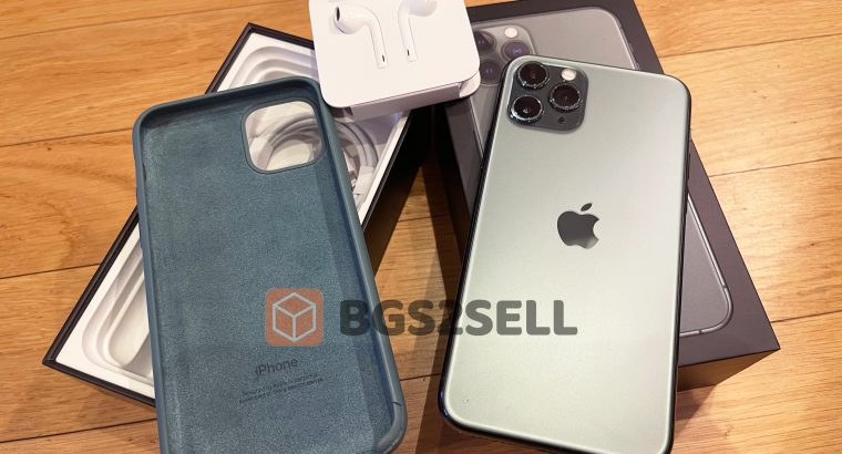 Apple iPhone 11 Pro (256 Go) – Midnight Green / Ve