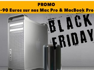 Promo -90€ – Mac Pro MacBook Pro – Black Friday
