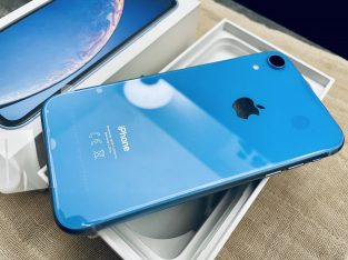 iPhone XR 128 Go bleu neuf